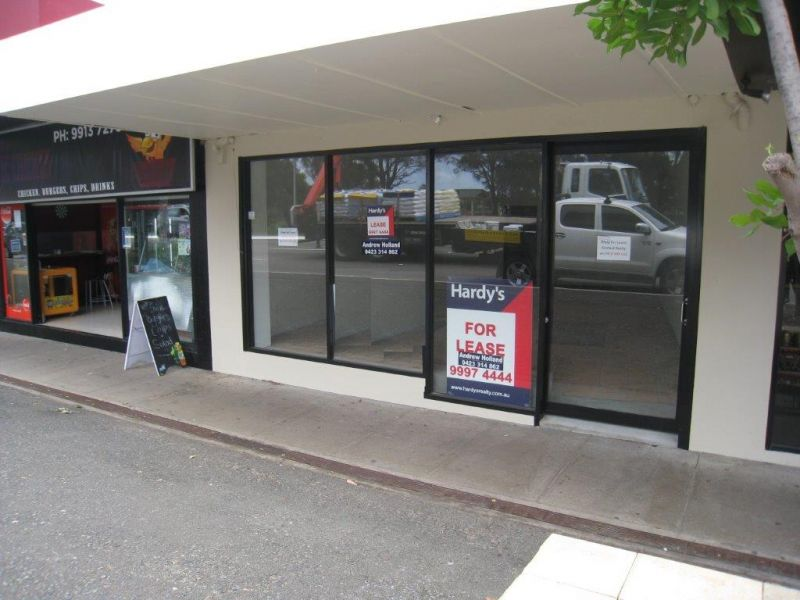 OPPORTUNITY FOR SHOP IN TIGHTLY HELD STRIP - LEASED !