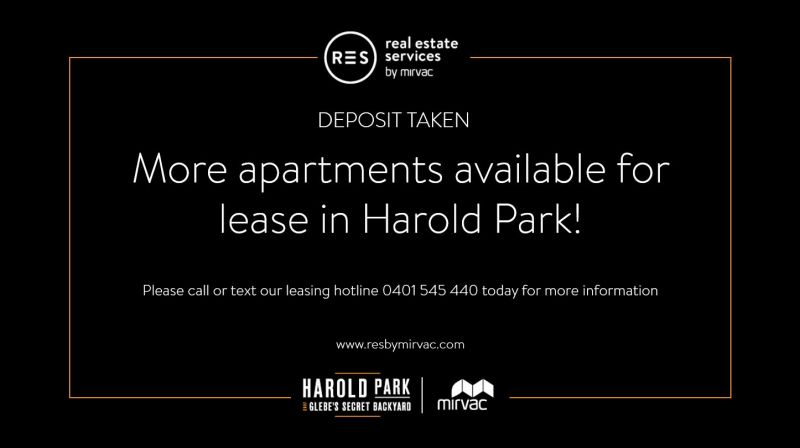 More apartments available ! Contact Harry- 0401 545 440