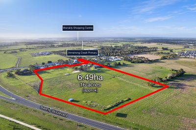 Blue Chip Development Site   6.49ha - 16 acres approx.