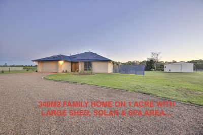 IMMACULATE 340M2 FAMILY HOME ON 1 ACRE WITH LOADS OF EXTRAS!