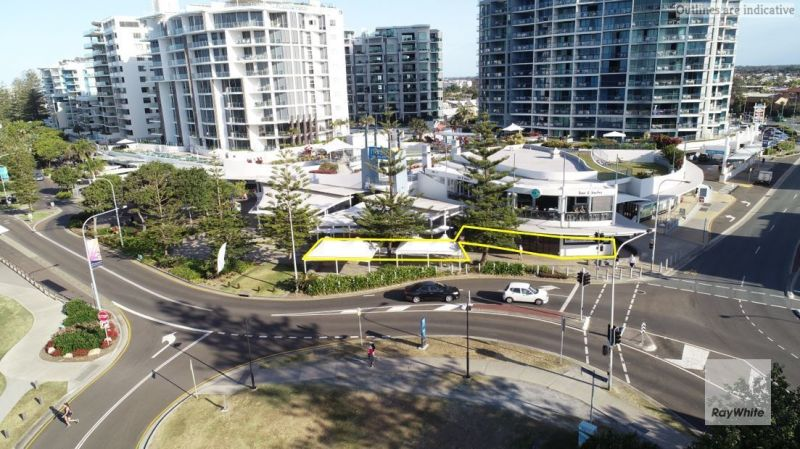 High profile retail space on Mooloolaba Esplanade | Lease