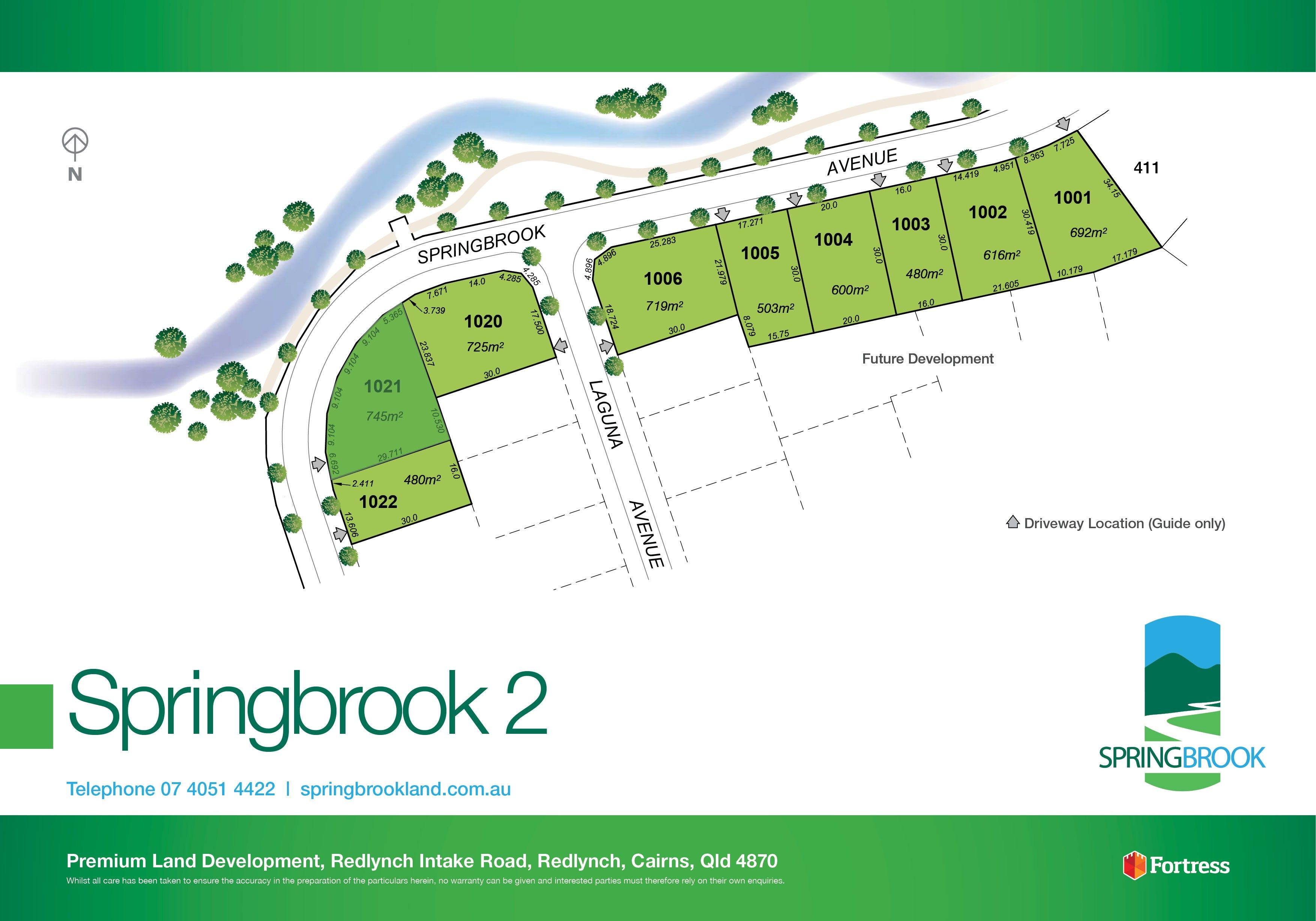 Lot 1021 Springbrook Avenue, Redlynch QLD 4870