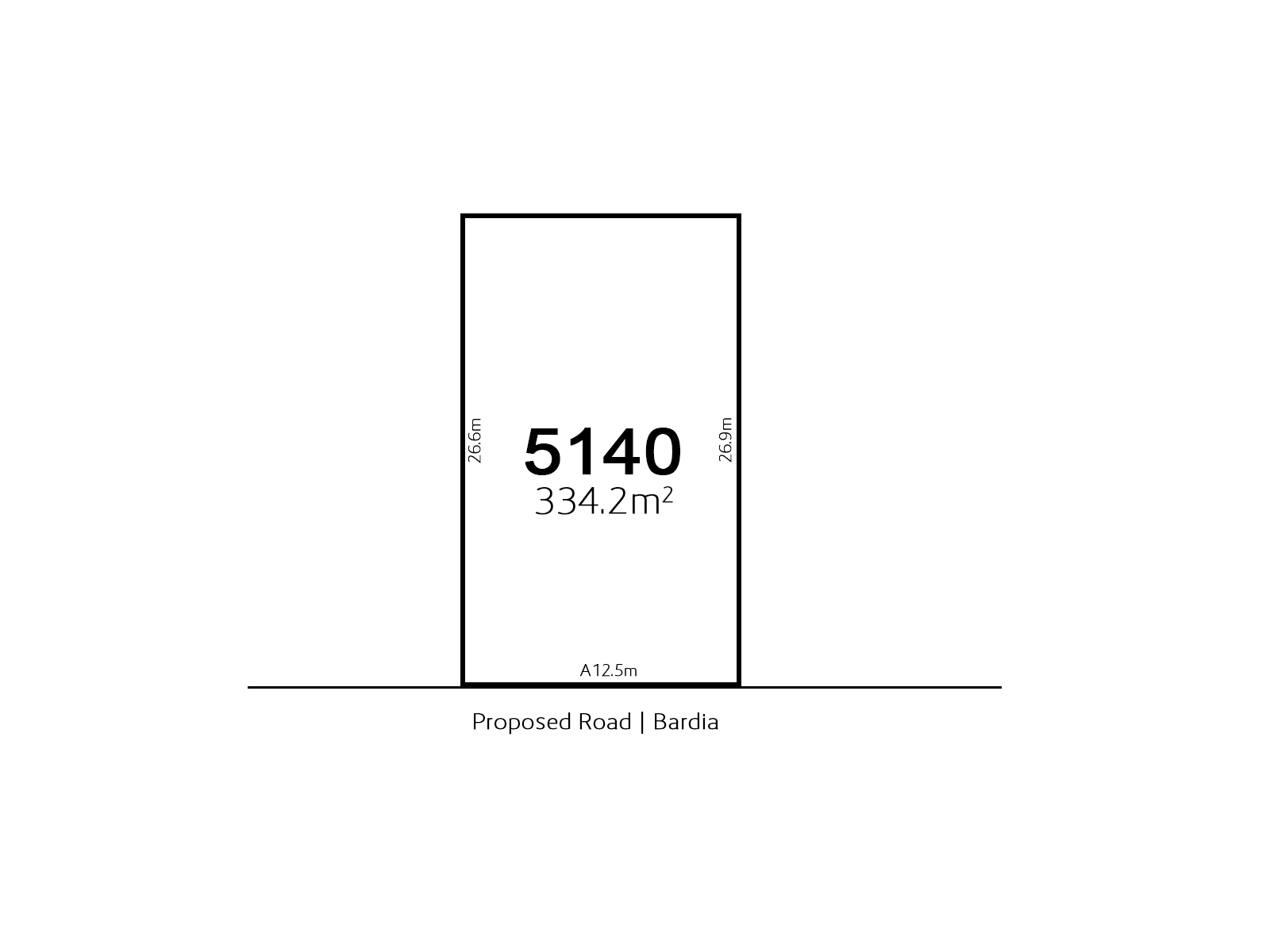 Bardia LOT 5140 Proposed Road | Bardia