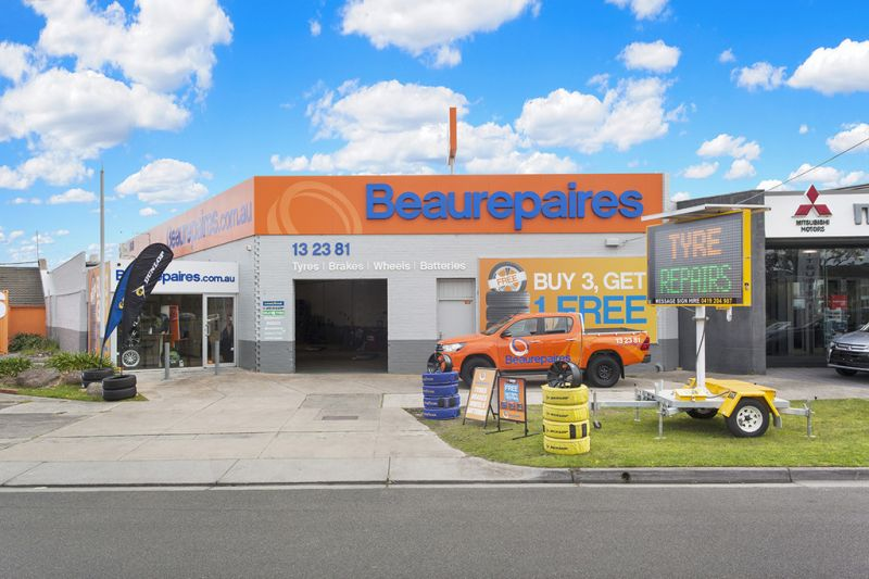 BEAUREPAIRES CHADSTONE: LONG-TERM SECURITY TO GOODYEAR & DUNLOP TYRES WITH FUTURE DEVELOPMENT POTENTIAL (STCA)