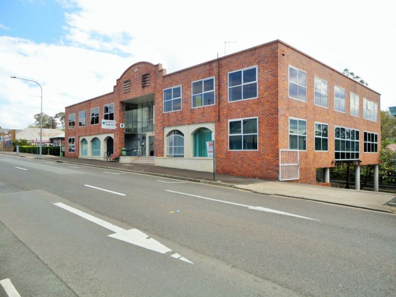 Main Street Frontage + Off Street Parking