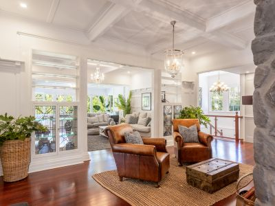 STUNNING CHARACTER HOUSE OFFERS CELEBRITY PRIVACY AND QUAINT CARETAKER'S COTTAGE