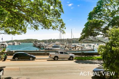 Very large two bedroom plus sunroom unit opposite Rose Bay Harbour!