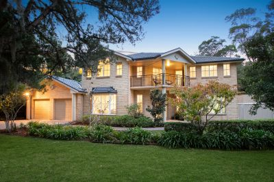 Master built family home in a coveted whisper quiet setting