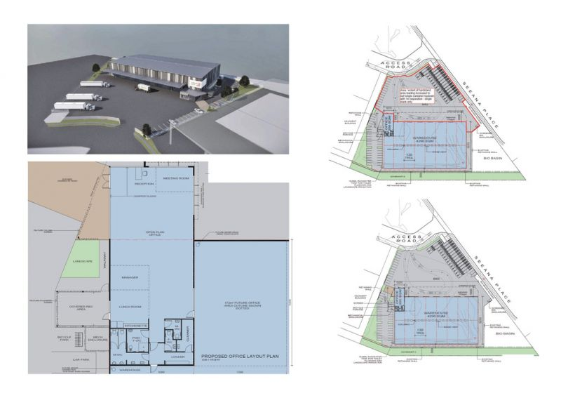BRAND NEW INDUSTRIAL WAREHOUSE AND OFFICE FACILITY IN HEATHWOOD