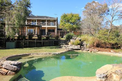 bring the in-laws!  5 bedroom home with extended accommodation on 5 acres with shed, pool and privacy!!! value plus!