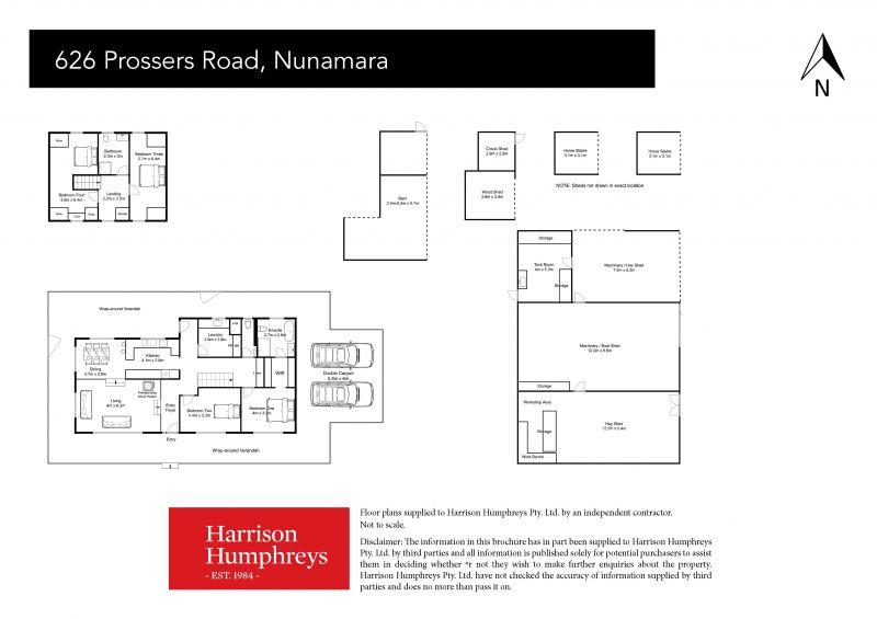 626 Prossers Road Floorplan