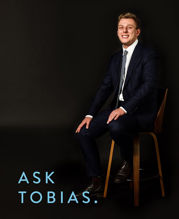 Tobias Newing real estate agent