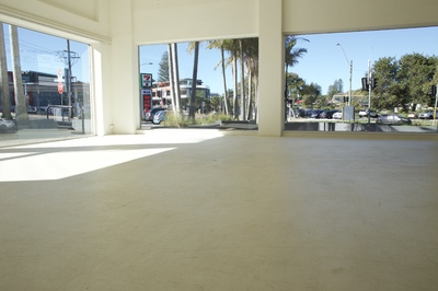 Prominent Retail or Showroom Space