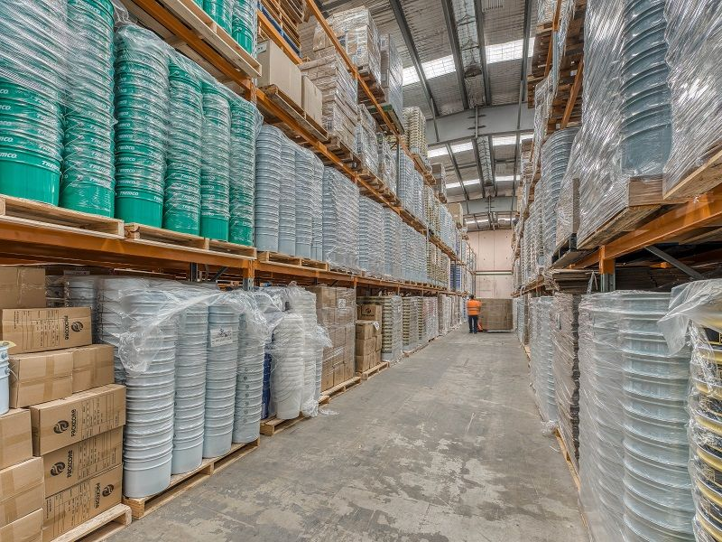 Warehouse Space with 1,000 Pallet Racking Spaces