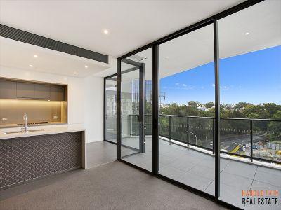 Split Bedroom Design with Two Balconies