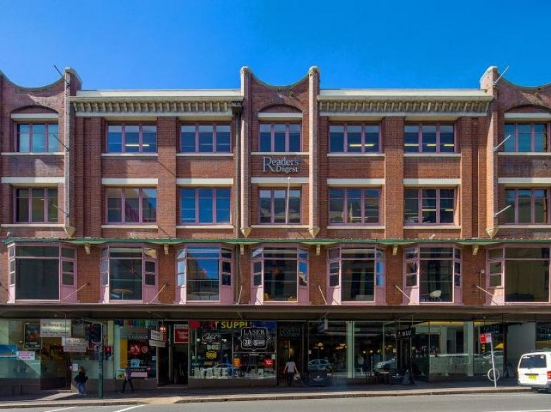 A heritage building located in the ultimate location opposite Broadway Sydney