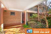 Enjoy elevated, tree-lined bushland views with easy level access