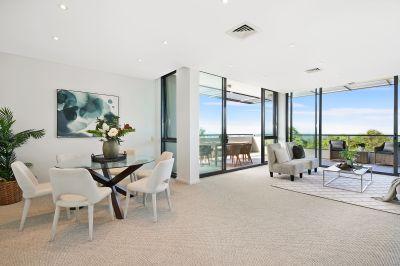 Spectacular Mirvac penthouse with breathtaking panoramas and city skyline vistas