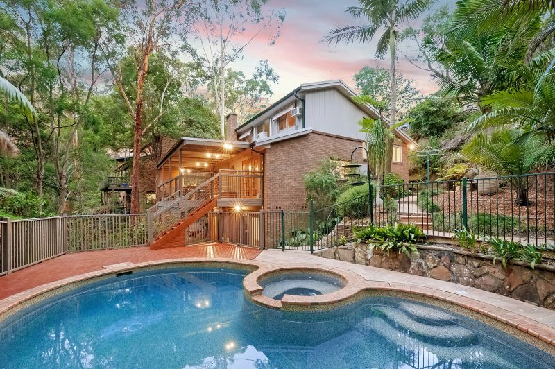 Spacious home peacefully positioned amidst bush setting