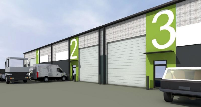 Large Scale Industrial Warehouse Or Distribution Facility