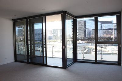 Podium level abode in Yarra's Edge