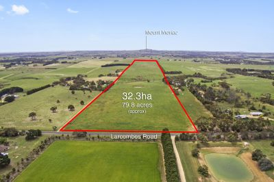 Rare Opportunity   32.3ha 79.8 acres approx.