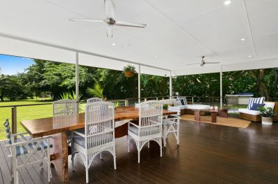 4,905m2 of flat useable land, a modern Queenslander and a monster shed.