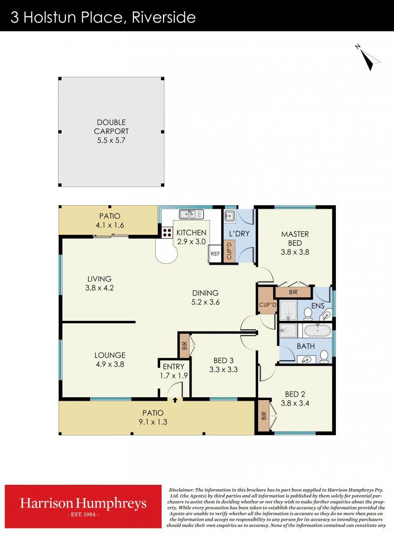 3 Holstun  Place Floorplan