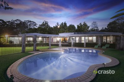Immaculate, Modern Entertainer with Usable Land and Pool