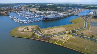 SELLERS RE-LOCATED - WIDE WATERFRONT LAND WITH PLANS