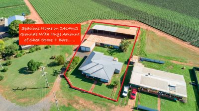 COLONIAL HOME ON 2,414M2 WITH 16 BAYS OF SHED SPACE! NO REAR NEIGHBOURS JUST 6 MINS FROM CBD!