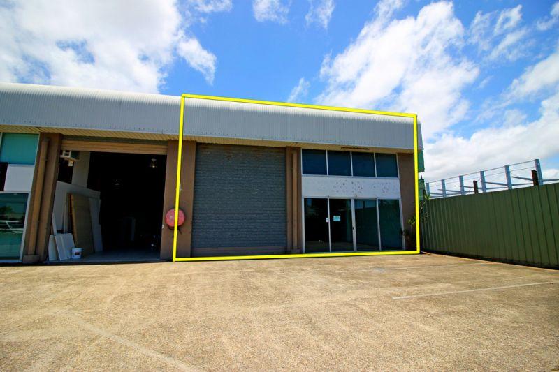 Open Factory In Bustling Industrial Area