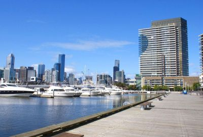 Gorgeous one bedroom in Docklands