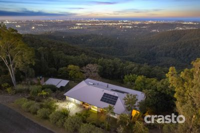 Spectacular City & Coastal Views on 7.5 acres of absolute Serenity