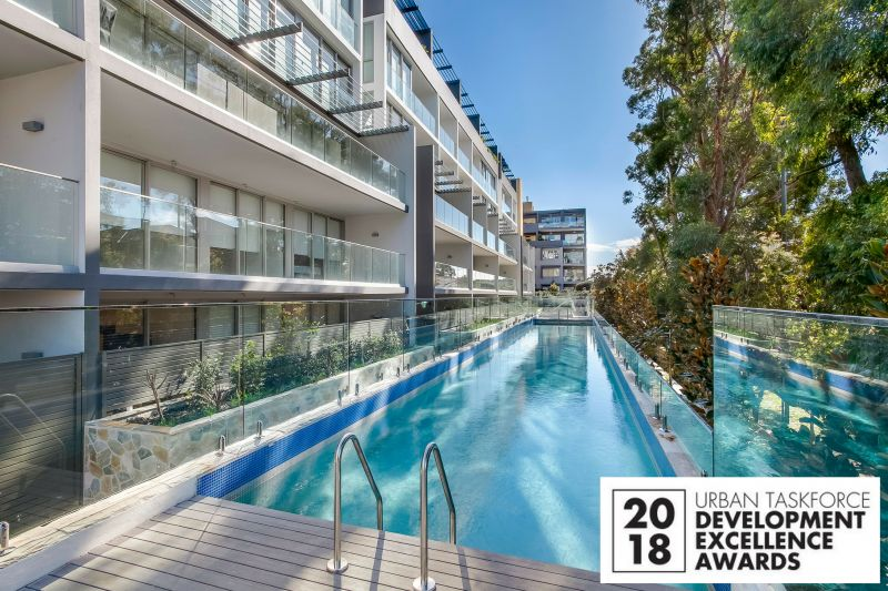 'Eighty Eight Kensington' - 2018 Winner of Medium Rise City Apartments Development Award - Urban Taskforce Development Excellence Awards