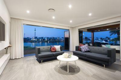 North Facing Waterfront - With Private Marina Berth
