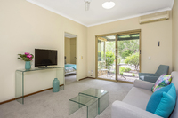 Unit 17 Lakeside Gardens - Fresh paint and new floor covering compliment this two bedroom unit. Close to the village facilities and public transport.