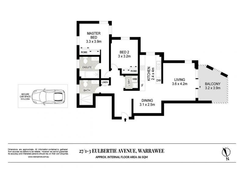 27/1-3 Eulbertie Avenue Warrawee 2074