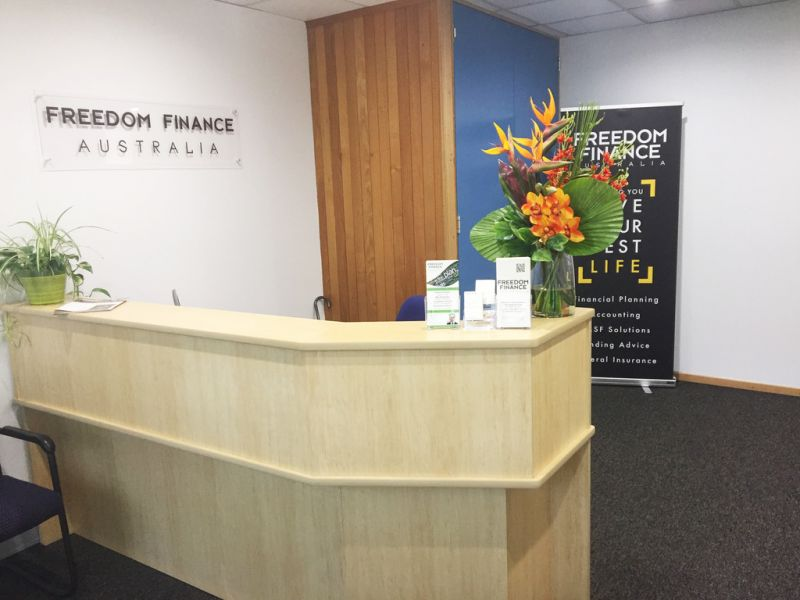 Fitted out boutique office