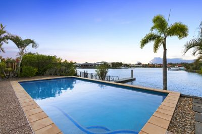 Immaculate North Facing Waterfront Home
