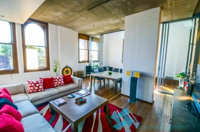 EXECUTIVE TWO BEDROOM RESIDENCE IN PREMIER WAREHOUSE CONVERSION OPEN FOR INSPECTION: BY APPOINTMENT