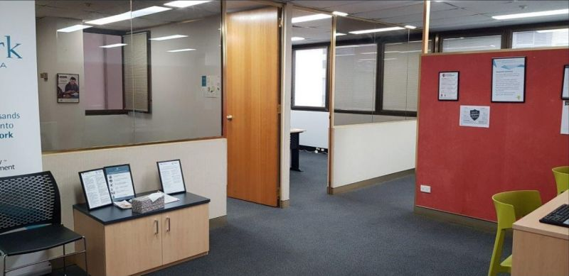 Bright Partitioned Office in Convenient Location