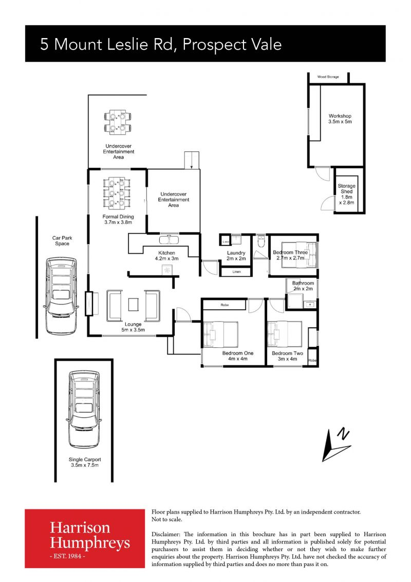 5 Mount Leslie Road Floorplan