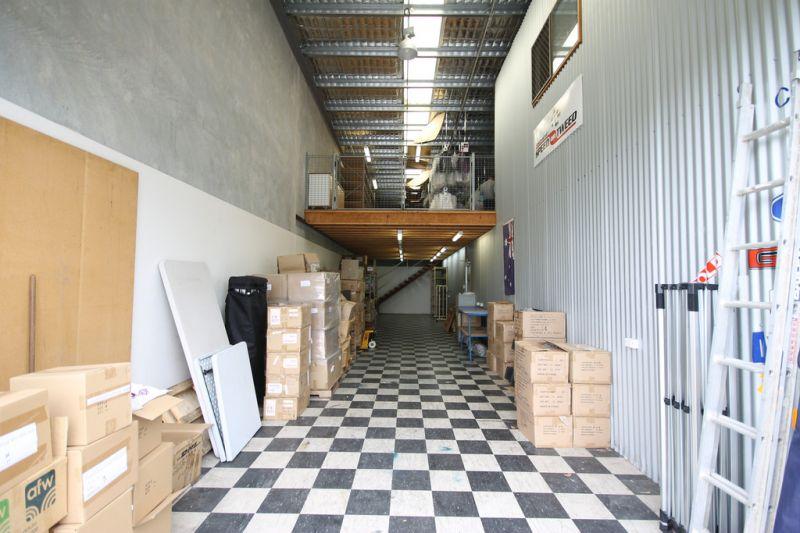 Modern Warehouse Unit with Bonus Mezzanine Storage