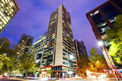 City Tempo: Furnished Studio in the Heart of Melbourne!