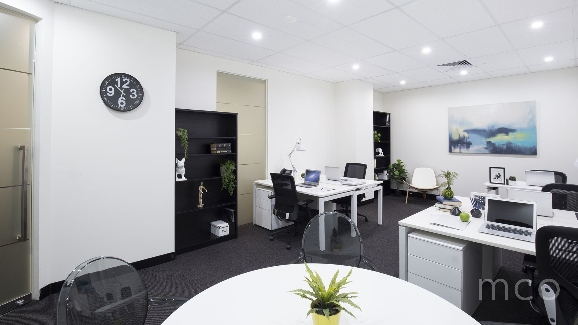 Secure, private office space with on-site parking