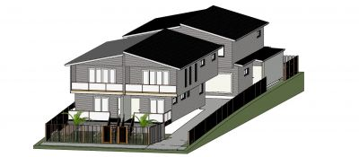 DA APPROVED, 4x3 BEDROOM TOWNHOUSES