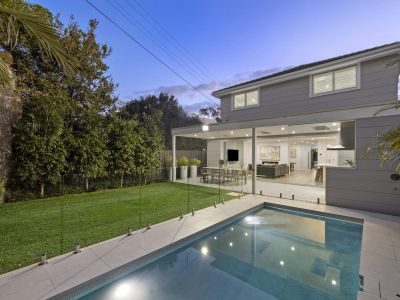 Architecturally transformed contemporary family property.
