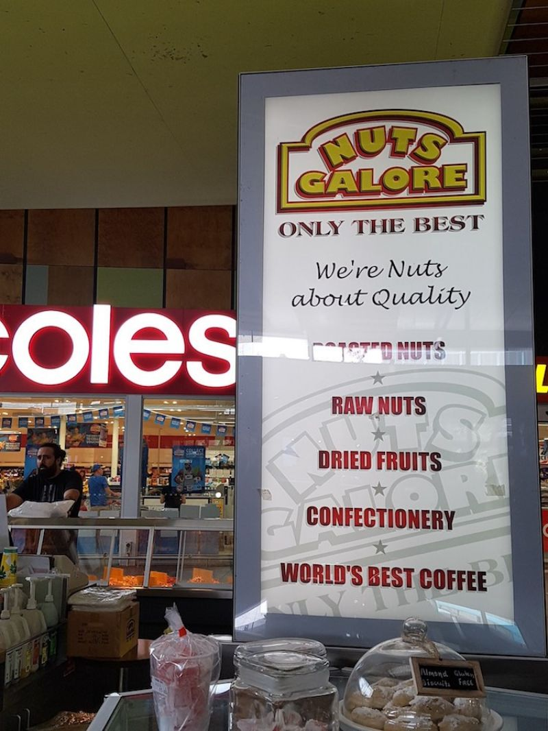 NUTS GALORE Franchise for Sale