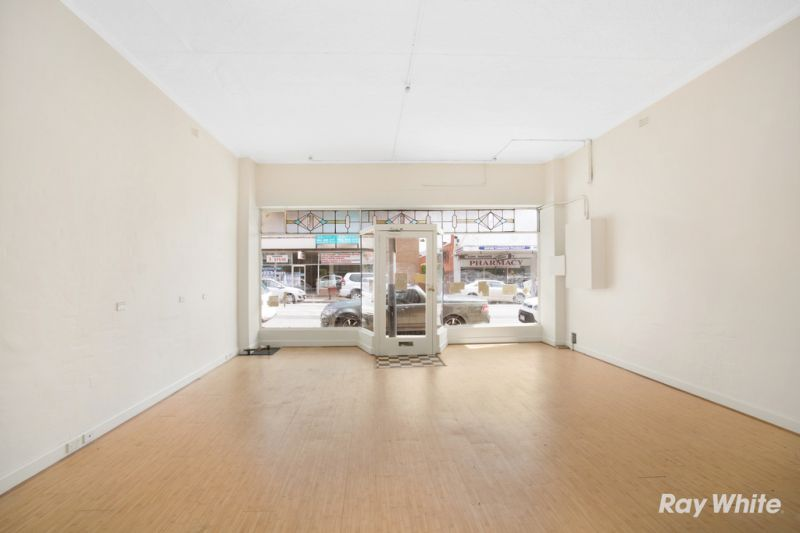 RETAIL/OFFICE WITH RESIDENCE IN MALVERN EAST